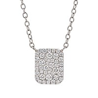 Finn Women's Looking Glass Pendant Necklace No Color