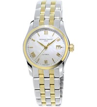 Frederique Constant Fc 303Mpwn1b3b Classics Automatic Gold Plated Stainless Steel Watch White