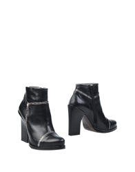 Malloni Ankle Boots Black