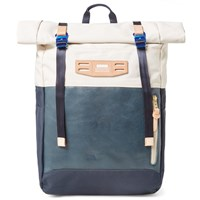 Master Piece Hedge Roll Top Backpack Ivory
