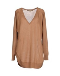Space Style Concept Sweaters Camel