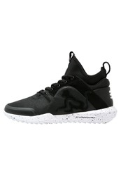 Drunknmunky Denver Chrome Hightop Trainers Anthracite