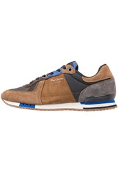 Pepe Jeans Tinker Trainers Tobacco Brown
