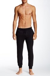 Majestic Ribbed Fleece Lined Soft Pant Black