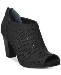 Giani Bernini Alanny Perforated Booties Only At Macy's Women's Shoes