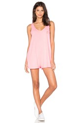 Wildfox Couture Basics Romper Pink