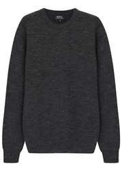 A.P.C. Charcoal Wool Jumper
