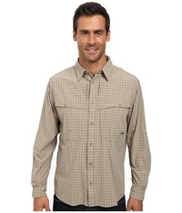 Mountain Khakis Skiff Shirt Rushmore Multi Men's Long Sleeve Button Up Gray