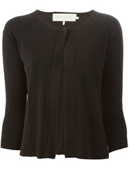 L'autre Chose Cropped Cardigan Black
