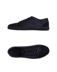 Armani Collezioni Low Tops And Trainers Dark Blue