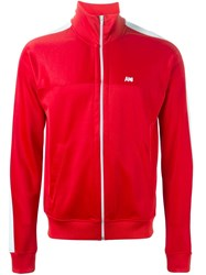 Ami Alexandre Mattiussi Funnel Neck Sweatshirt Red