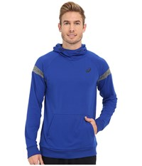 Asics Sanded Hoodie Airforce Blue Men's Sweatshirt