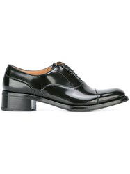 Church's Block Heel Lace Up Shoes Black