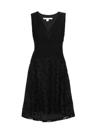 Diane Von Furstenberg Fiorenza Dress Black
