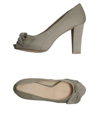 Bagatt Pumps With Open Toe Beige