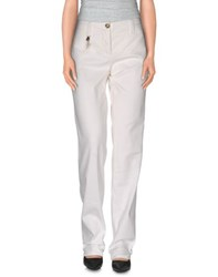 Trussardi Jeans Trousers Casual Trousers Women Ivory