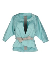 Annarita N. Suits And Jackets Blazers Women Turquoise