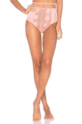 For Love And Lemons X Revolve High Waist Panty Pink