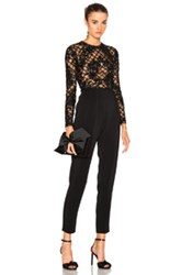 Zuhair Murad Embroidered Jumpsuit In Black