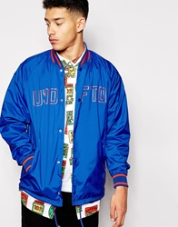Undefeated Coach Jacket Blue