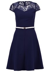 Paper Dolls Cocktail Dress Party Dress Navy Dark Blue