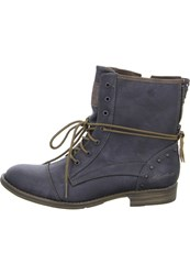 Mustang Laceup Boots Anthracite