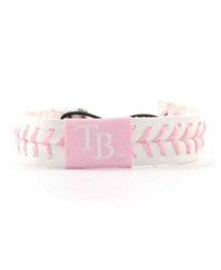 Game Wear Tampa Bay Rays Baseball Bracelet Pink