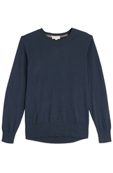 Burberry Jarvis Cashmere Cotton Long Sleeve Shirt