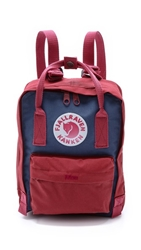 Fjall Raven Kanken Mini Backpack Royal Blue Ox Red