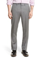 Bonobos Slim Fit Wool Trousers Gray