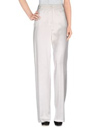 Armani Jeans Trousers Casual Trousers Women White