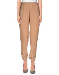 American Vintage Trousers Casual Trousers Women Camel