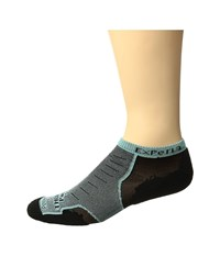 Thorlos Experia No Show Single Pair Night Mint No Show Socks Shoes Gray