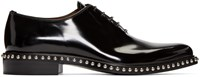 Givenchy Black Studded Oxfords