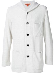 Barena Shawl Collar Cardigan White