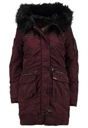 Khujo Handan Winter Coat Sassafras Bordeaux