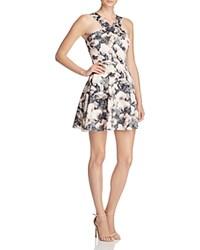 Necessary Objects Scuba Halter Dress Compare At 88 Pink Multi