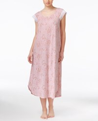 Charter Club Lace Trimmed Floral Print Nightgown Only At Macy's Mini Rose Garden