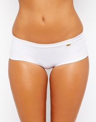 Ultimo Bonded Knicker Short White