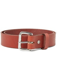 Tanner Goods Standard Belt Mahogany And Stainless Steel