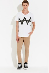 Forever 21 Zee.Gee.Why. Dropsticks Chinos Khaki