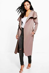 Katie Belted Waterfall Duster