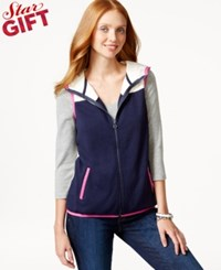 Tommy Hilfiger Sunday Hooded Contrast Vest