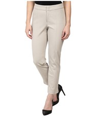 Nydj Petite Petite Ankle Pant Bi Stretch Stone Women's Casual Pants White