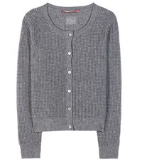 81 Hours Casinia Wool And Cashmere Cardigan Grey
