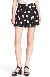Women's Kate Spade New York 'Daisy Dot' Pleat Shorts