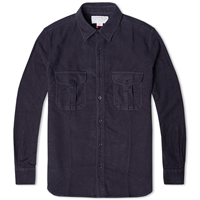 Filson Moleskin Seattle Shirt Navy