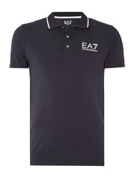 Emporio Armani Short Sleeve Train Core Id Polo Navy