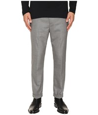 Vince City Cropped Chino Grey Men's Casual Pants Gray