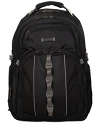 Kenneth Cole Reaction Expandable Computer Backpack Black